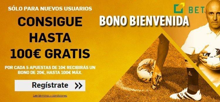 BONO BIENVENIDA DE BETFAIR, 100 EUROS EN APUESTAS