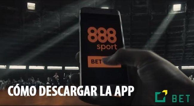 DESCARGAR LA APP DE 888SPORT
