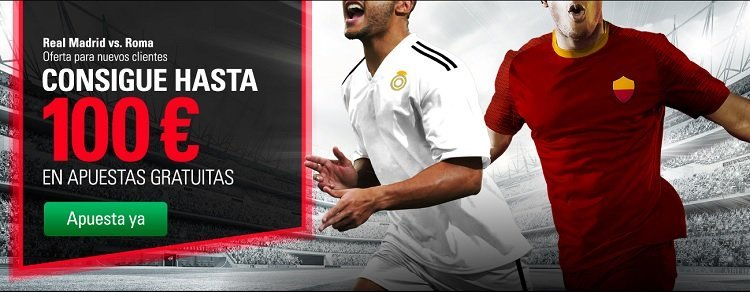 betstars Real Madrid vs Roma