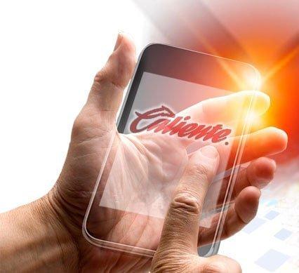 Con la app de Caliente podrás apostar desde la tranquilidad de tu hogar.