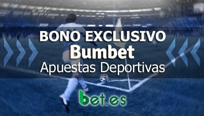 Bumbet ofrece Bono Exclusivo de Bienvenida para apuestas deportivas.