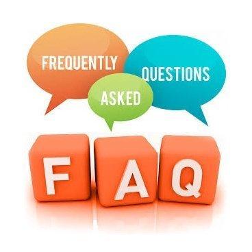 Preguntas frecuentes y dudas con sus respectivas respuestas.