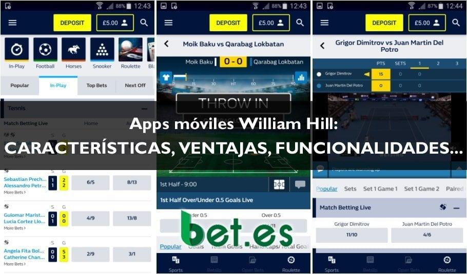 Descaraga e instala la app de William Hill y juegue con seguridad.