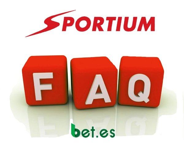 FAQ App Sportium
