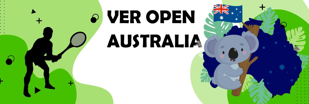 ver open de australia en directo