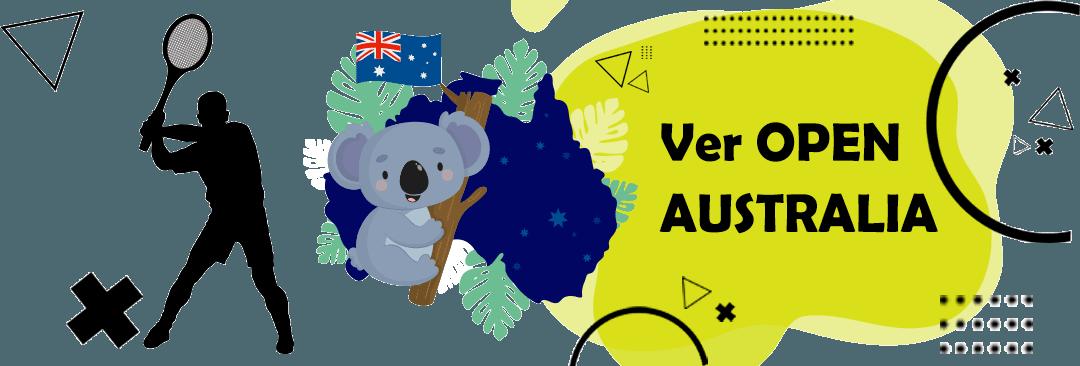 ver open de australia en directo gratis