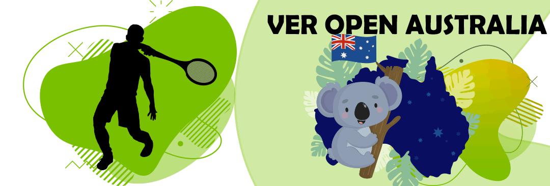 ver abierto de australia en vivo gratis