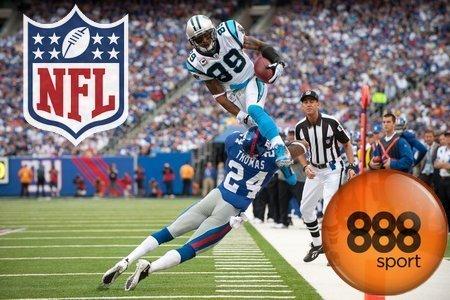 888sport: Apuesta a la NFL de fúbol americano (3 - 4 enero)
