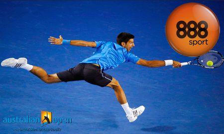 Ver partido Djokovic Vs Milos Raonic y apostar en 888sport  (Open de Australia, 28 enero)