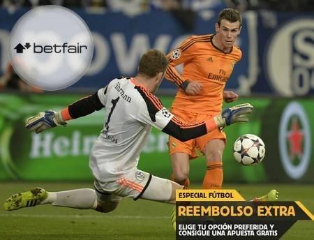 Ver online Schalke vs Real Madrid en directo y apuesta en Betfair con reembolso extra (18 febrero, Champions League)